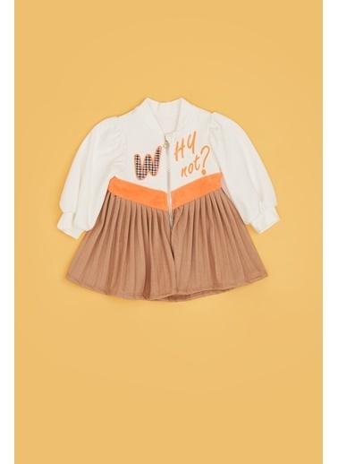 BG Baby Kız Bebek Renkli Elbise 20Fw1Bg2914 Renkli